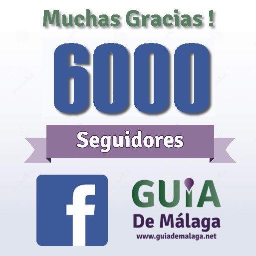 6000 seguidores fanpage
