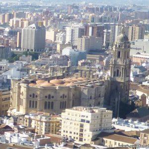 Vista Panorámica de La Manquita, Catedral de Málaga Nuestra Señora de la Encarnación