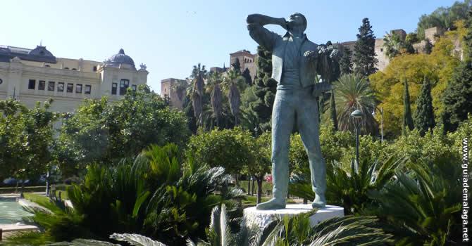 Estatua El Biznaguero, Málaga.