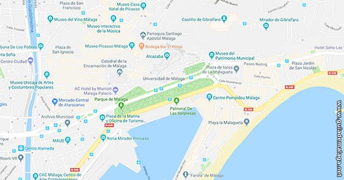Tour Ciudad de Málaga 48 Hs.