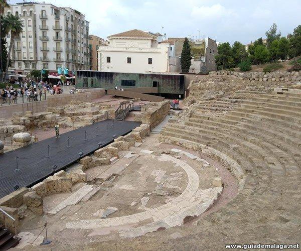 Teatro Romano de Málaga.