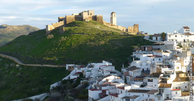 Castillo de Álora.