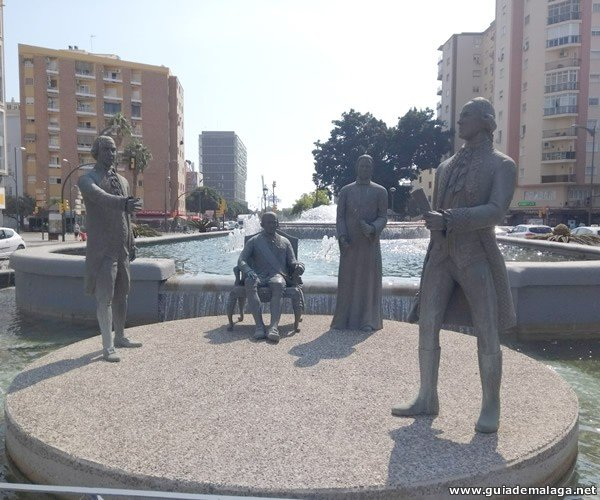 Monumento a la familia Gálvez.