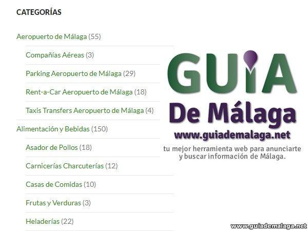 Empresas de Málaga por Categoría