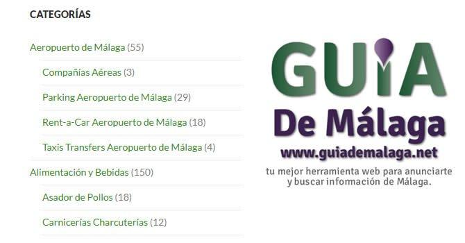 Empresas de Málaga por Categorías