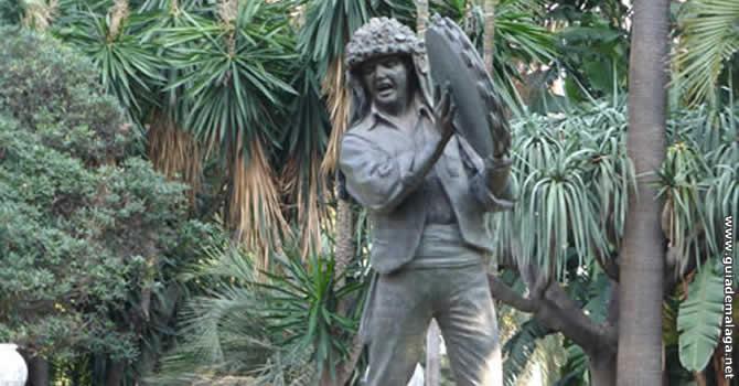 Monumento El Fiestero, Málaga.
