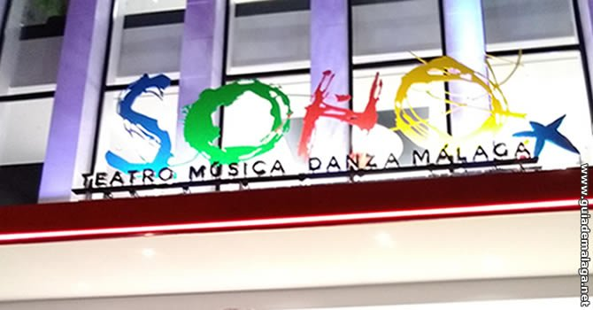 Teatro del Soho Caixabank, Málaga.