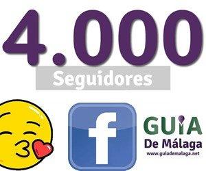 4.000 seguidores facebook.