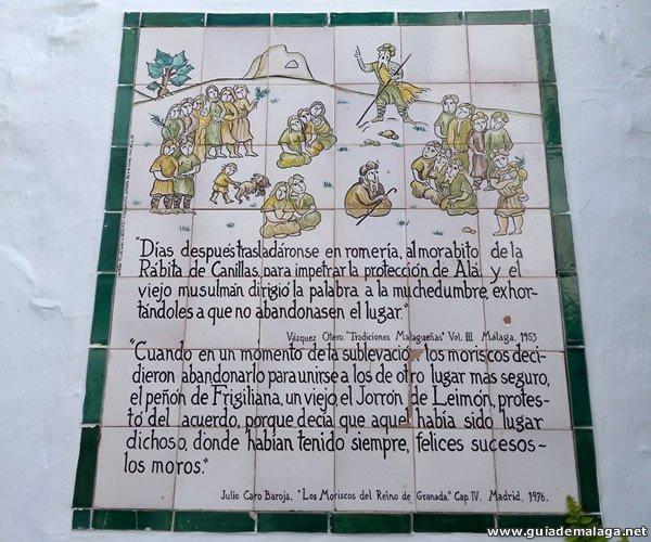 Frigiliana, Azulejos Históricos