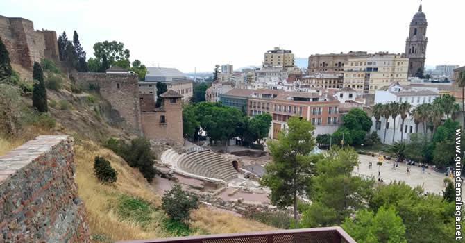 Mirador de la Alcazaba, Málaga.
