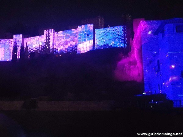 Video Mapping Málaga