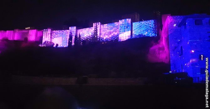 Video Mapping Málaga.