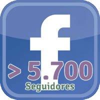 Facebook 5700 Seguidores