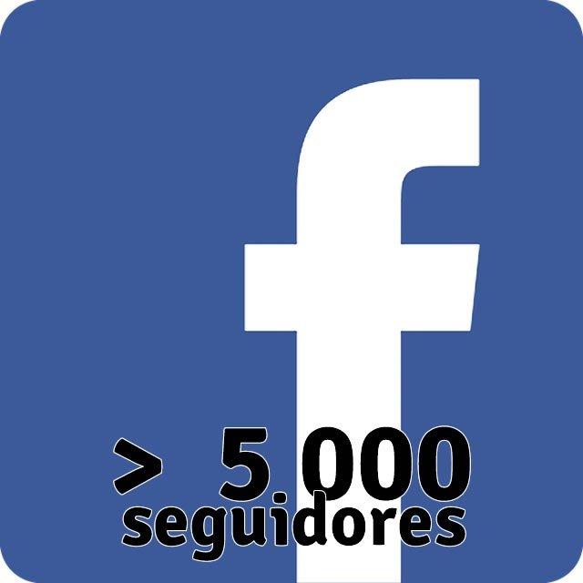 Facebook 5000 Seguidores