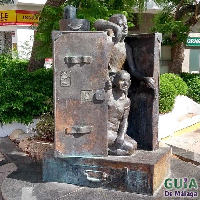 Monumento al Turista en Benalmádena