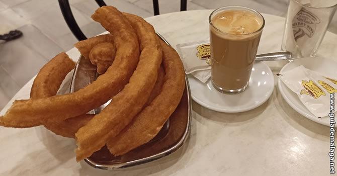 ¿Dónde comer churros en Málaga?