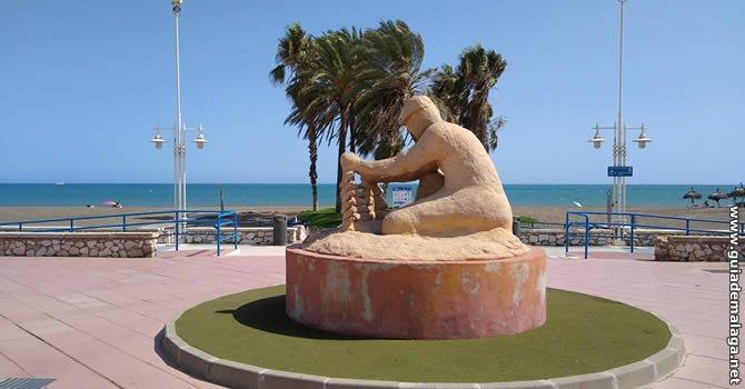 Estatua del Espetero, Málaga.