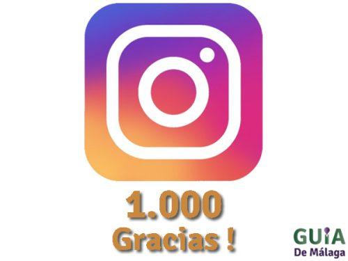 Instagram 1000 Gracias