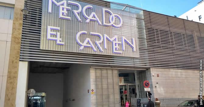 Mercado El Carmen, Málaga.