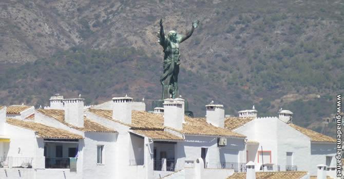 Estatua de La Victoria, Marbella.