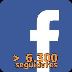 Facebook 6300 Seguidores